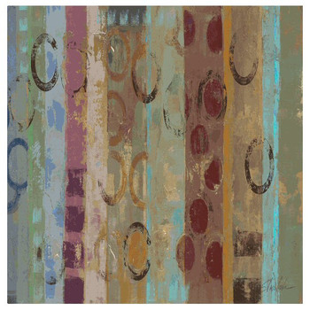Magic Carpet Absorbent Beverage Coasters by Silvia Vassileva, Set of 8