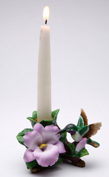 Hummingbird Taper Candle Holders, Set of 2