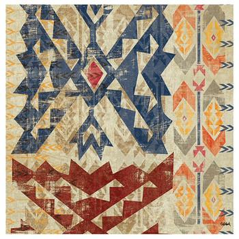 Grasslands Tapestry Absorbent Beverage Coasters, Set of 8