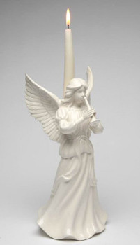 Angel of Celebration Porcelain Taper Candle Holder