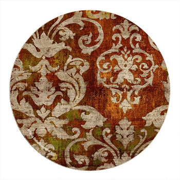 Fontainbleu Sandstone Round Beverage Coasters, Set of 8
