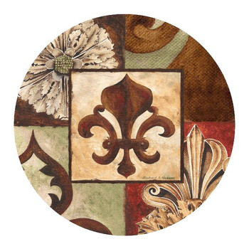 Facade II Sandstone Beverage Coasters by Richard Henson, Set of 8