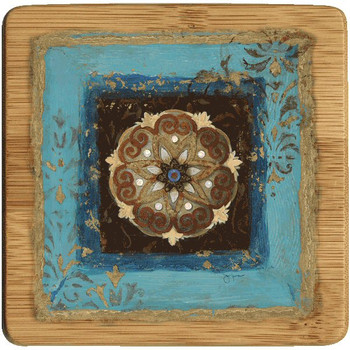 Exotic Medallion II Beverage Coasters, Set of 8