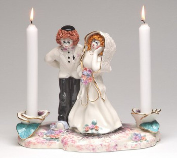 Mazel Tov Taper Candle Holder