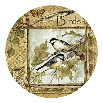 Birds of a Feather Sandstone Coasters by Anita Phillips, Set of 8