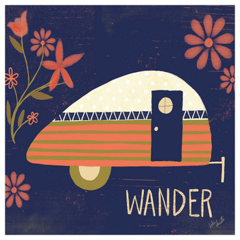 Wander Camper Absorbent Beverage Coasters, Set of 12