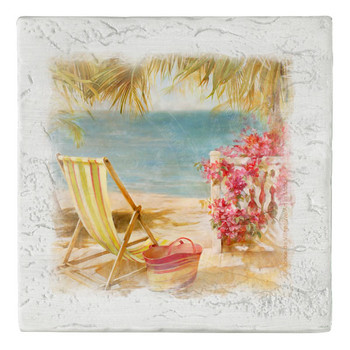 La Martinique Beverage Coasters, Set of 8