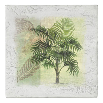 Paradise Island Beverage Coasters, Set of 8
