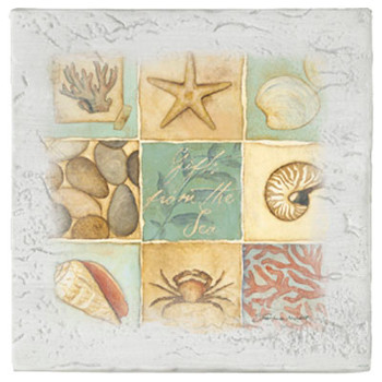 Nautical Patchwork Beverage Coasters, Set of 8