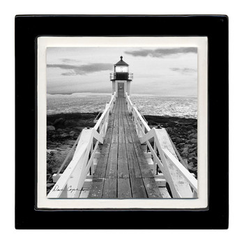 Lighthouse Pier Beverage Coasters, Set of 8