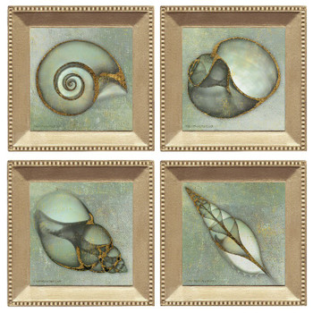 Neptunes Garden Beverage Coasters, Set of 8