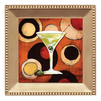 Bar Scene Beverage Coasters, Set of 8