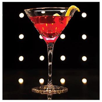 Cosmopolitan Cocktail Absorbent Beverage Coasters, Set of 8