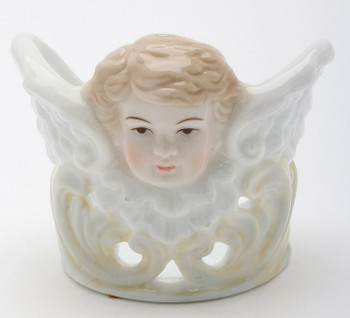 Cherub Votive Candle Holders, Set of 2