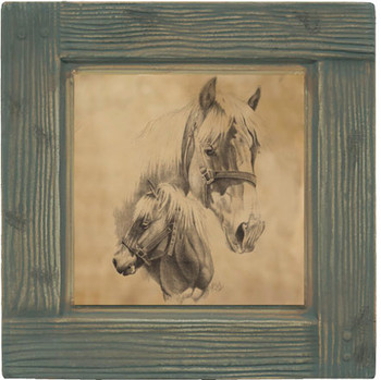 Horses Beverage Coasters, Set of 8