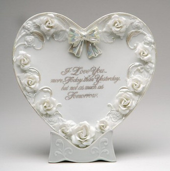 Porcelain Love Plate