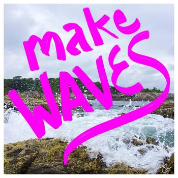 Make Waves Absorbent Beverage Coasters, Set of 12