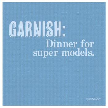 Garnish Absorbent Beverage Coasters by RJ Smart, Set of 12
