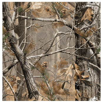 Realtree AP HD Scenic Absorbent Beverage Coasters, Set of 8
