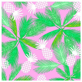 Tropicali Absorbent Beverage Coasters, Set of 12