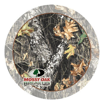 Mossy Oak Break Up Round Beverage Coasters by Mossy Oak, Set of 8