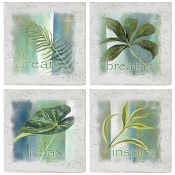 In the Palm of My Hand Beverage Coasters, Set of 8