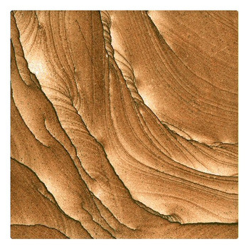 Cinnabar Sandstone Beverage Coasters, Set of 8