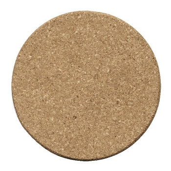 Plain Cork Beverage Coasters, Set of 12