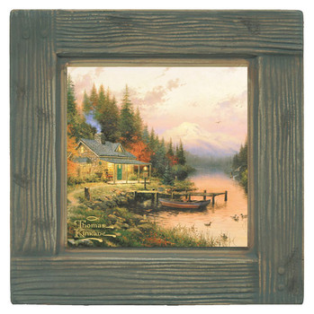 The End of a Perfect Day Scenery Beverage Coasters, Set of 8