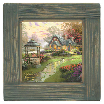 Make a Wish Cottage Scenery Beverage Coasters, Set of 8
