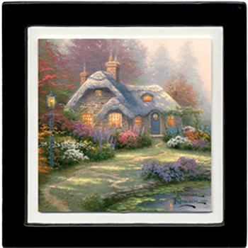 Everett's Cottage Scenery Beverage Coasters, Set of 8