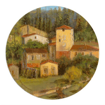 Tuscany Villaggio Sandstone Coasters by Longo Rosenstiels, Set of 8