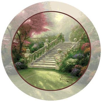 Stairway to Paradise Beverage Coasters by Thomas Kinkade, Set of 8