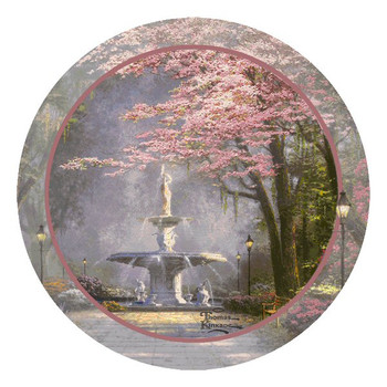 Savannah Romance Beverage Coasters by Thomas Kinkade, Set of 8