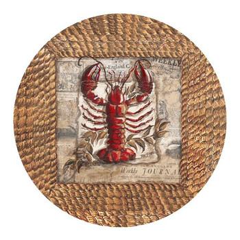 Lobster Sandstone Beverage Coasters by Tre Sorelle Studios, Set of 8