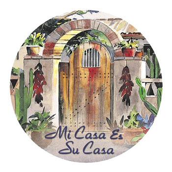 Lisa's Gate Mi Casa es Su Casa Coasters by Diana Madaras, Set of 8