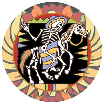 Horse Skeletons Beverage Coasters by Hand N Hand Designs, Set of 12