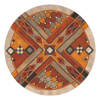 Southwest Pattern III Beverage Coasters by Albena Hristova, Set of 12