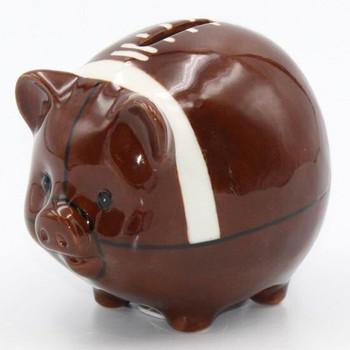 Football Porcelain Piggy Bank