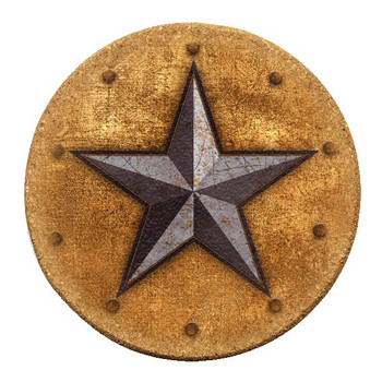 Western Star Cork Beverage Coasters, Set of 12
