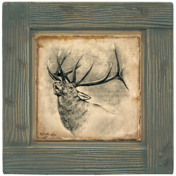 Elk Beverage Coasters, Set of 8