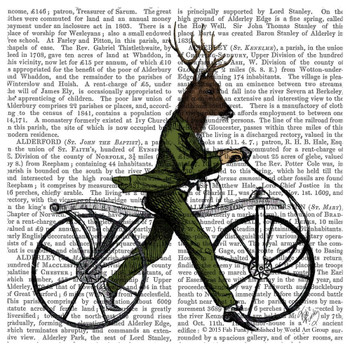 Dandy Deer on a Vintage Bicycle Print Beverage Coasters, Set of 12