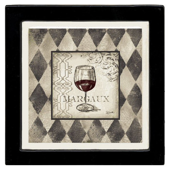 Margaux Absorbent Beverage Coasters by Tre Sorelle Studios, Set of 8