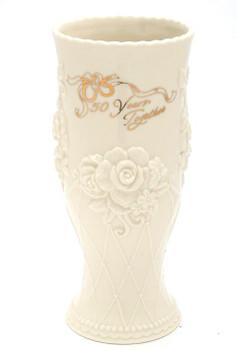 50th Anniversary Porcelain Vase