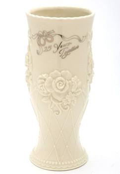 25th Anniversary Porcelain Vase