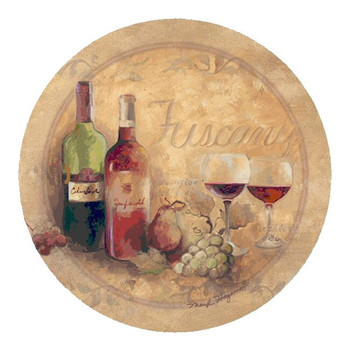 Tuscany Sandstone Beverage Coasters by Marilyn Hageman, Set of 8