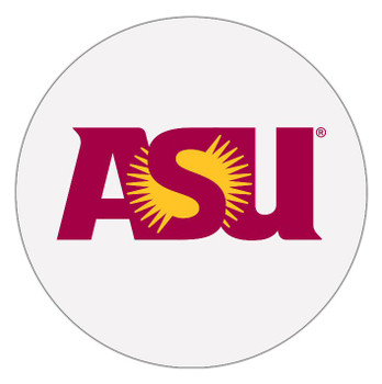 Arizona State Sun Devils Absorbent Beverage Coasters, Set of 8