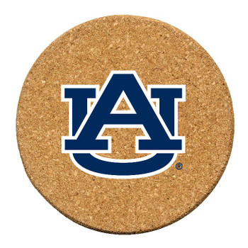 Auburn Tigers Cork Beverage Coasters, Set of 12