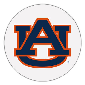 Auburn Tigers Absorbent Beverage Coasters, Set of 8