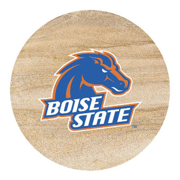 Boise State Broncos Sandstone Beverage Coasters, Set of 8